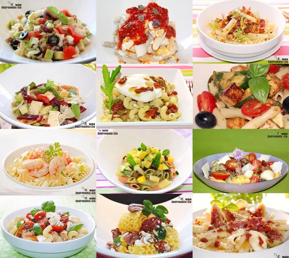 Doce recetas de ensalada de pasta  Gastronoma  Ca