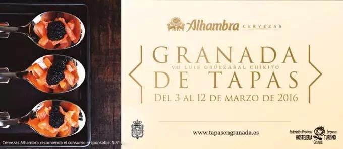 Granada de tapas 2016 el blog de cocina y recetas de for Grifos y tapas granada
