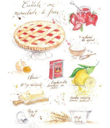 SAVIA Craft, recetas de cocina ilustradas ideales para decorar espacios físicos - Gastronomía y Moda