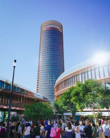 El Centro Comercial TORRE SEVILLA supera ya los 5 millones de visitas - Gastronomía y Moda