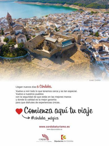 La Diputación de Córdoba lanza la campaña 'Comienza aquí tu viaje…Córdoba mágica', con un mayor apuesta por el turismo de cercanía y el mercado nacional - Gastronomía y Moda