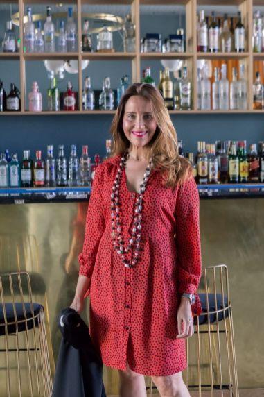 Nueva colección: Vestido rojo con lunares negros by Rocío Ortega - Gastronomía y Moda