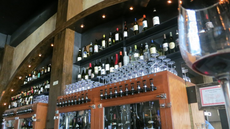btg wine bar wine array