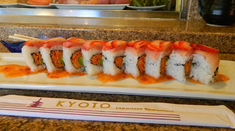 Kyoto restaurant Ichigo Roll
