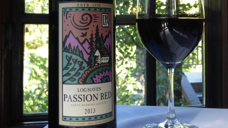 log haven passion red wine