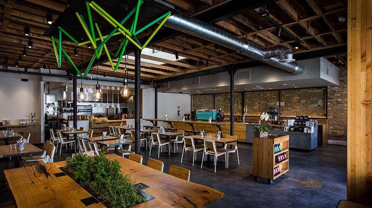 Campos Coffee Roastery And Kitchen interior SLC (Campos)