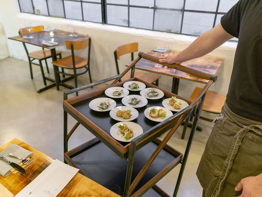 SLC Eatery - table side cart service