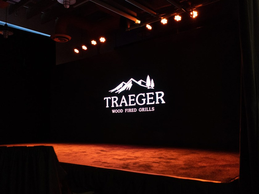 Traeger Wood Fired Grills - launch event for 2019 grills