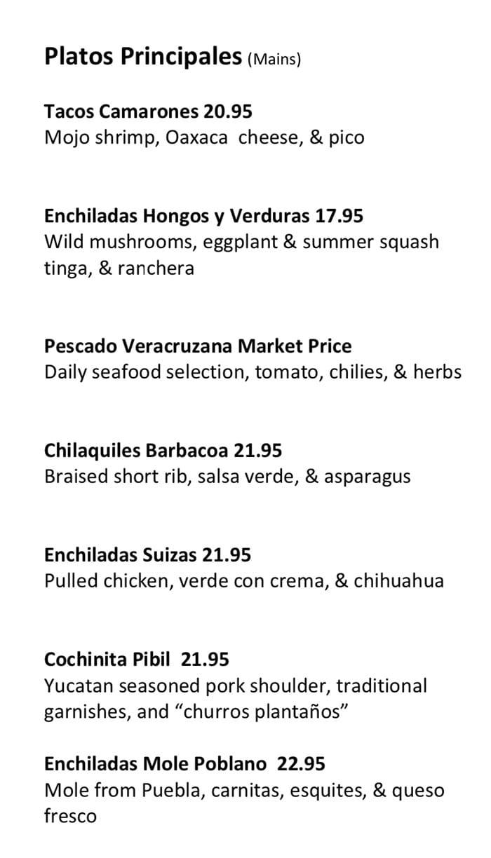Alamexo new menu Aug 19 - entrees