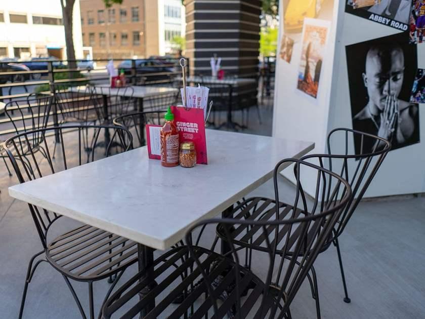 Ginger Street - patio