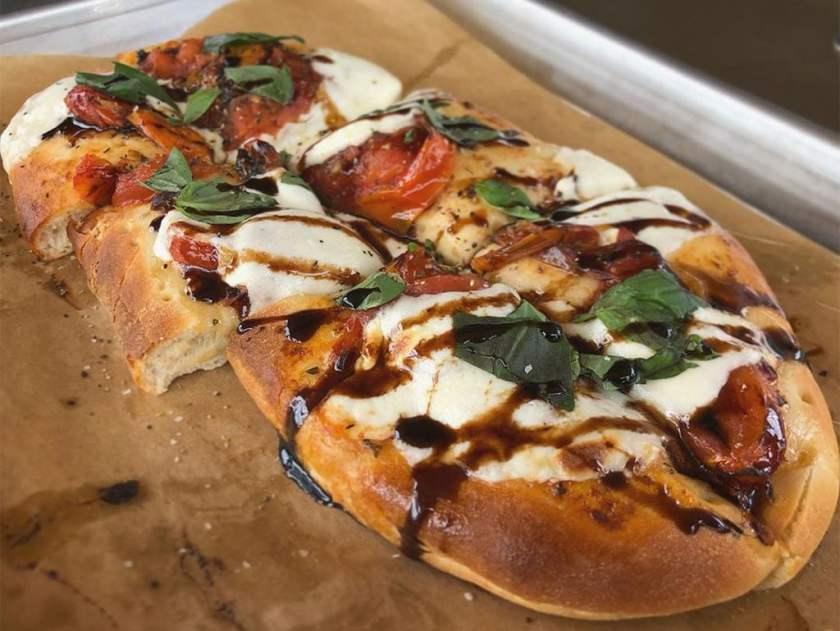 New menu flatbread (Brickyard Bar)
