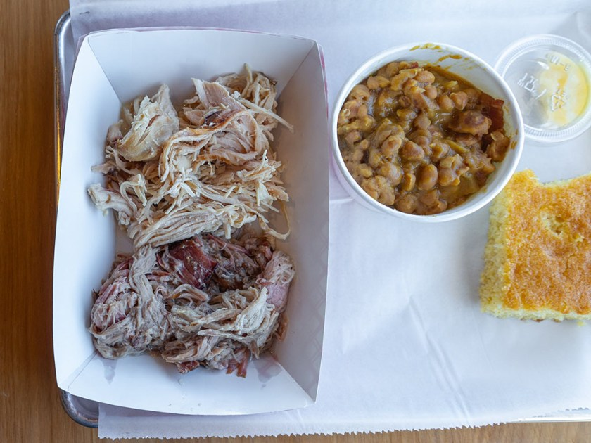 Charlotte Rose's Carolina BBQ - pulled chicken and porkCharlotte Rose's Carolina BBQ - pulled chicken and pork