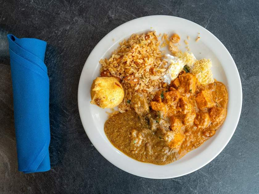 Saffron Valley - buffet plate from Saffron Colonial