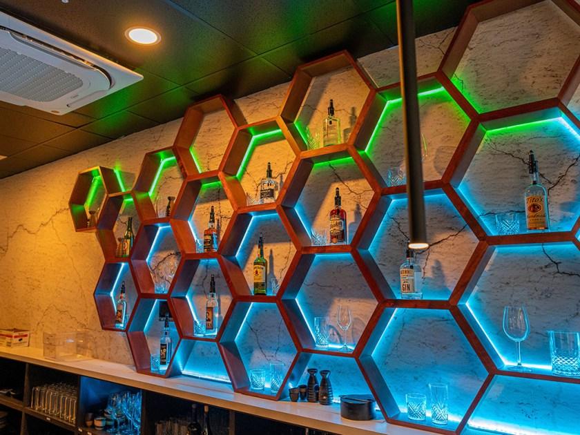 Blue Marlin - bar display