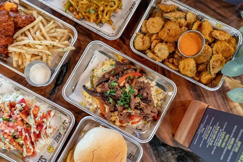 HallPass - selection of food from SkinnyFATS