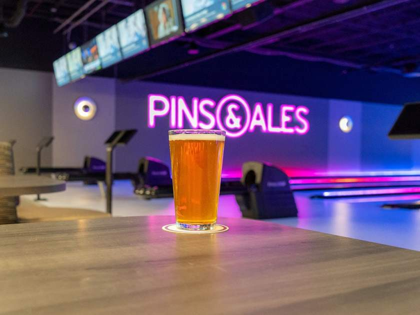 Pins And Ales - Bonneville Brewery beer