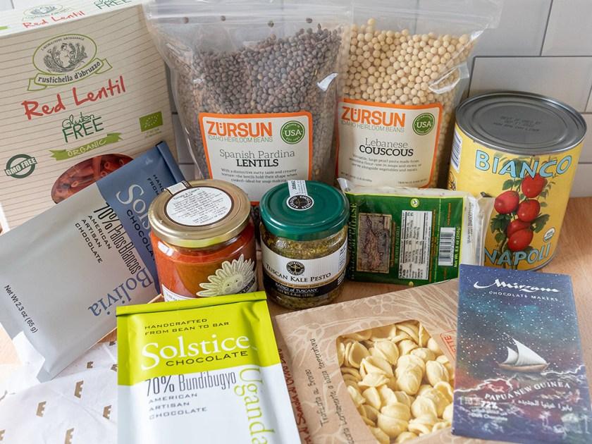 Caputo's grocery haul
