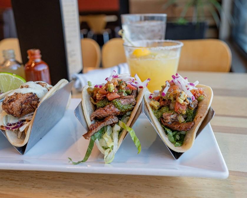 Taqueria 27 beef tacos