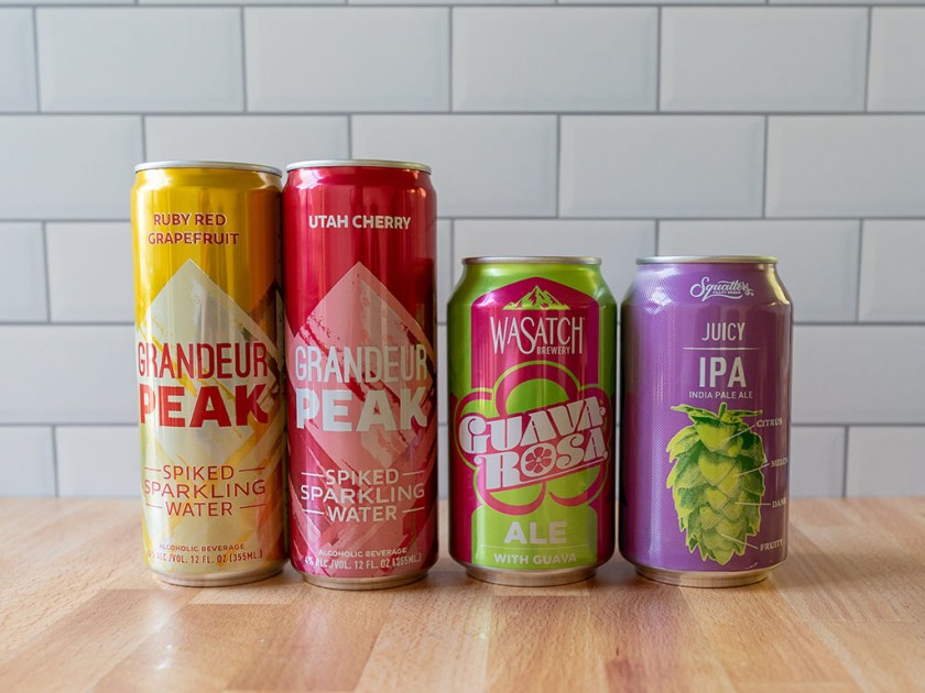 Spring and Summer beers from Dquatters Wasatch to check out