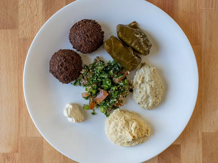Shahrazad Market - vegetarian sampler