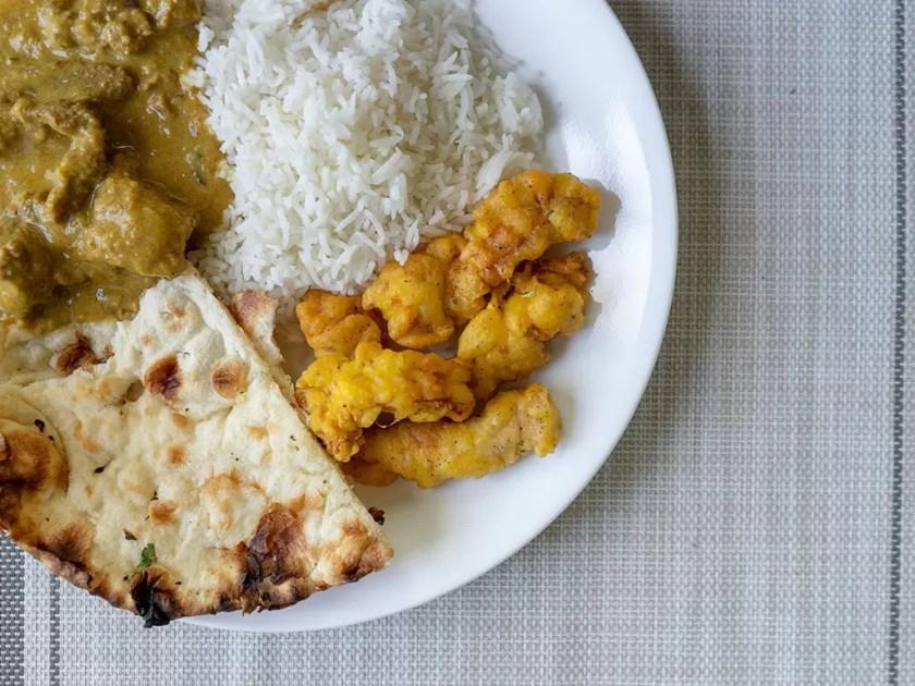 Tandoor Indian Grill - pakora, naan, curry