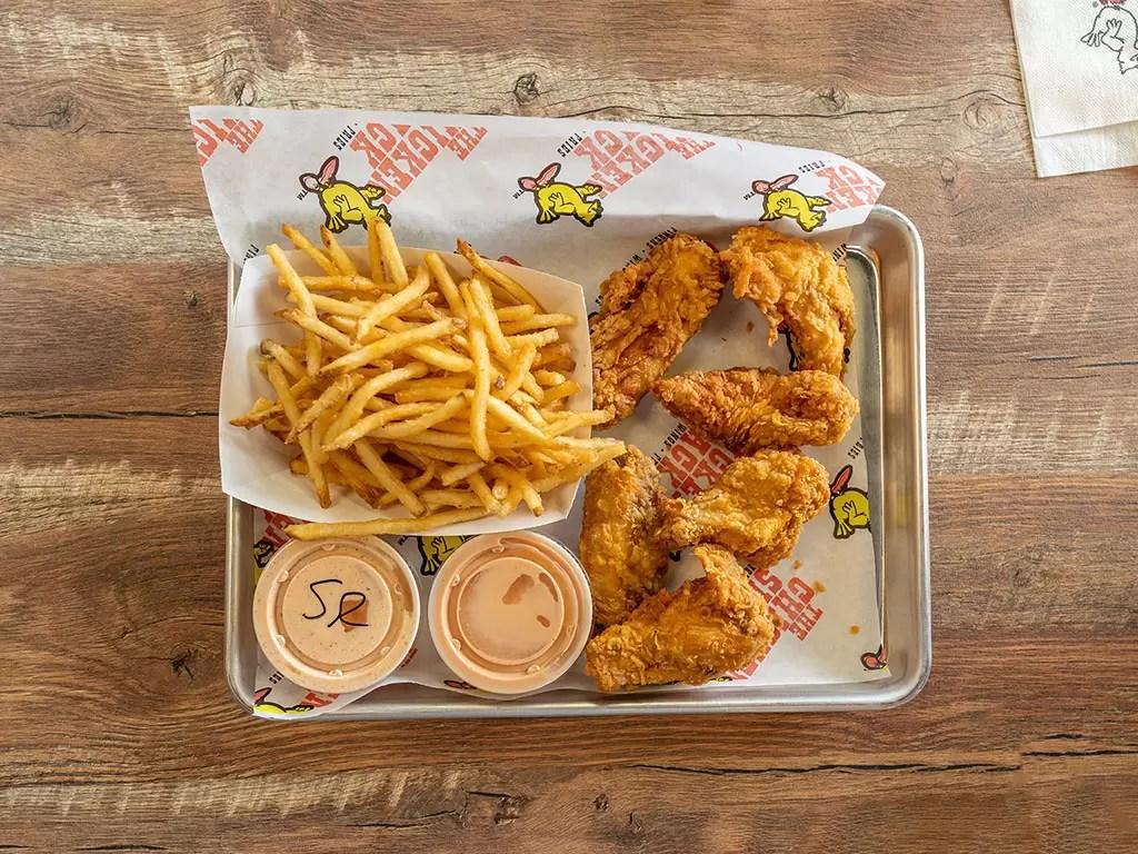 Chicken Shack - wings and tenders
