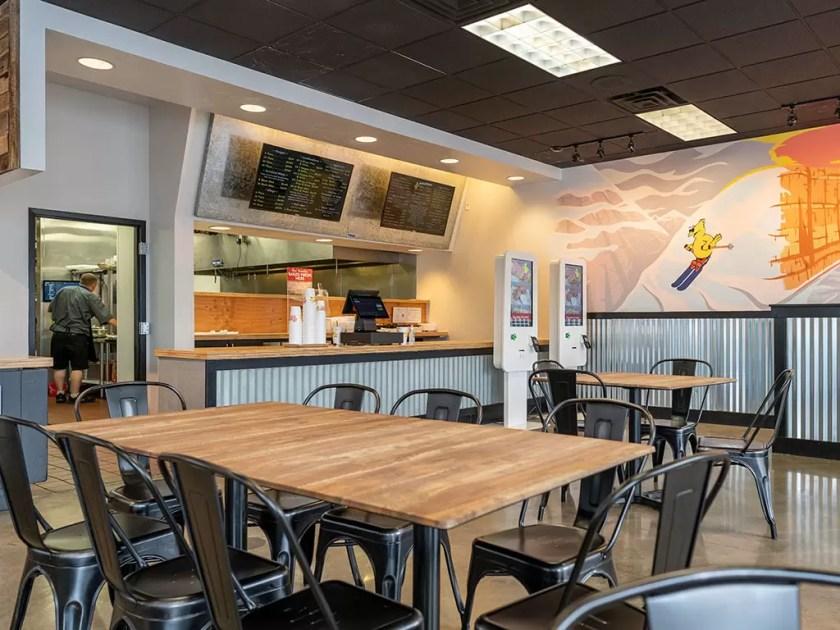 The Chicken Shack - ordering