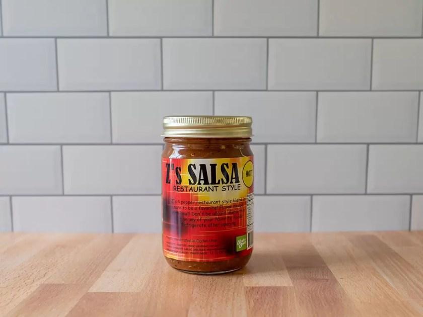 Z's restaurant style salsa