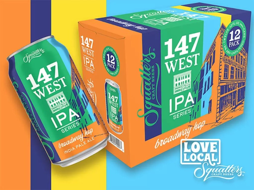 Squatters Craft Beers 147 West IPA Series