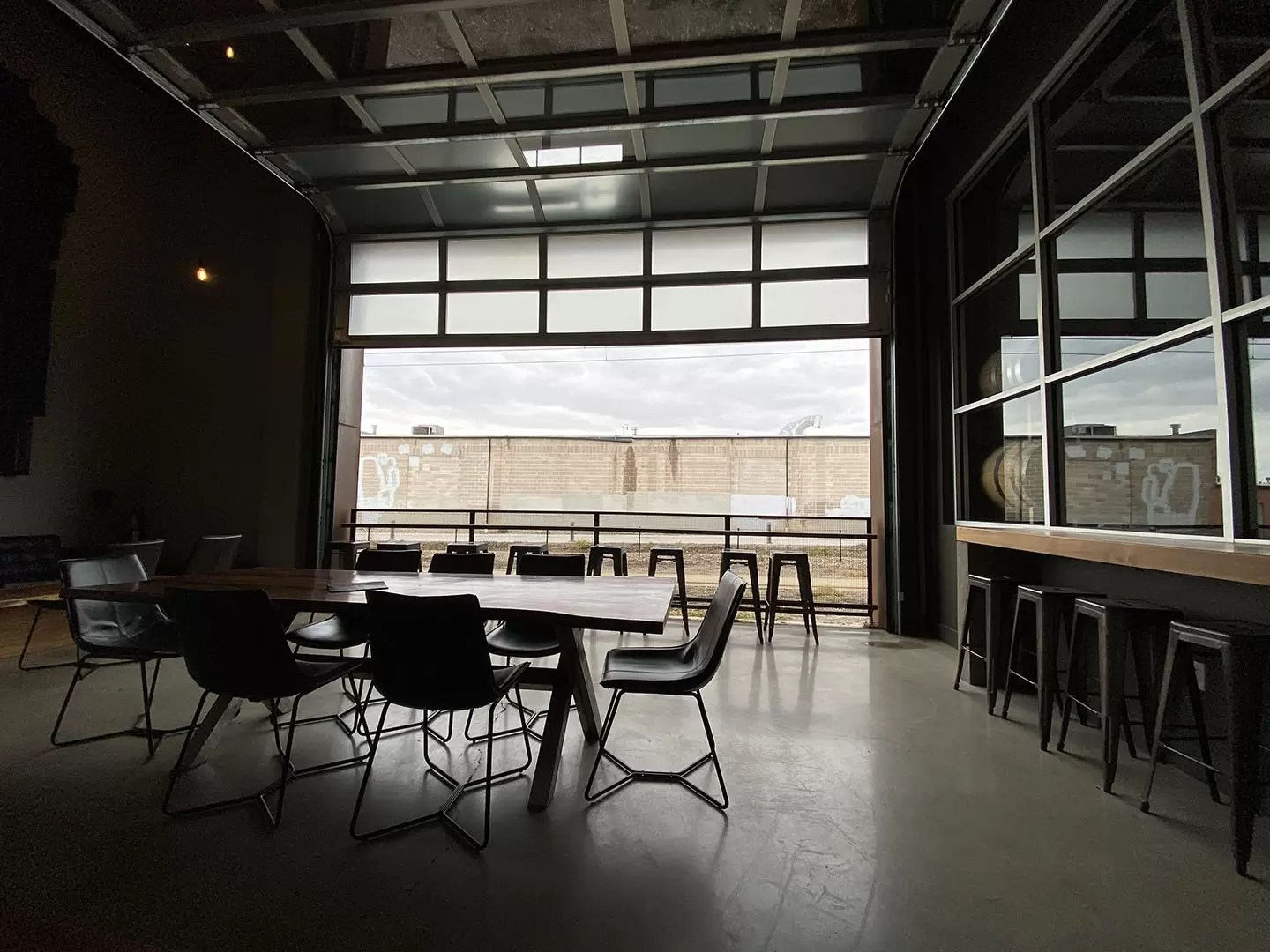 Beehive Distilling - cool interior space