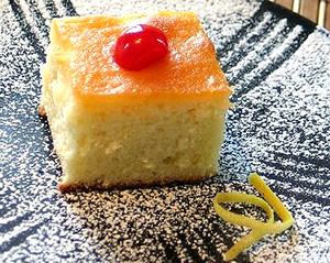 Desert: Gâteau éponge