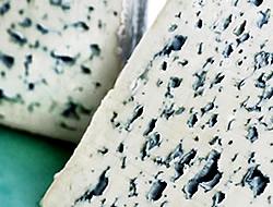branza cu mucegai - bleus d'Auvergne | categorii de brânzeturi franţuzeşti