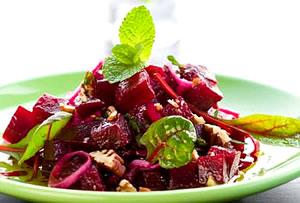 Salată de sfeclă roşie