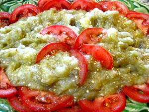 salata de vinete cu ceapa - aspectul final al preparatului