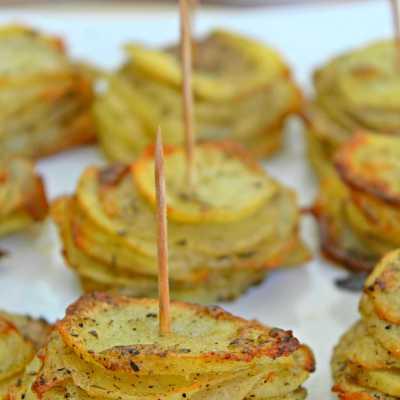 Rondele De Cartofi Cu Parmezan