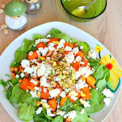 Salata de baby spanac