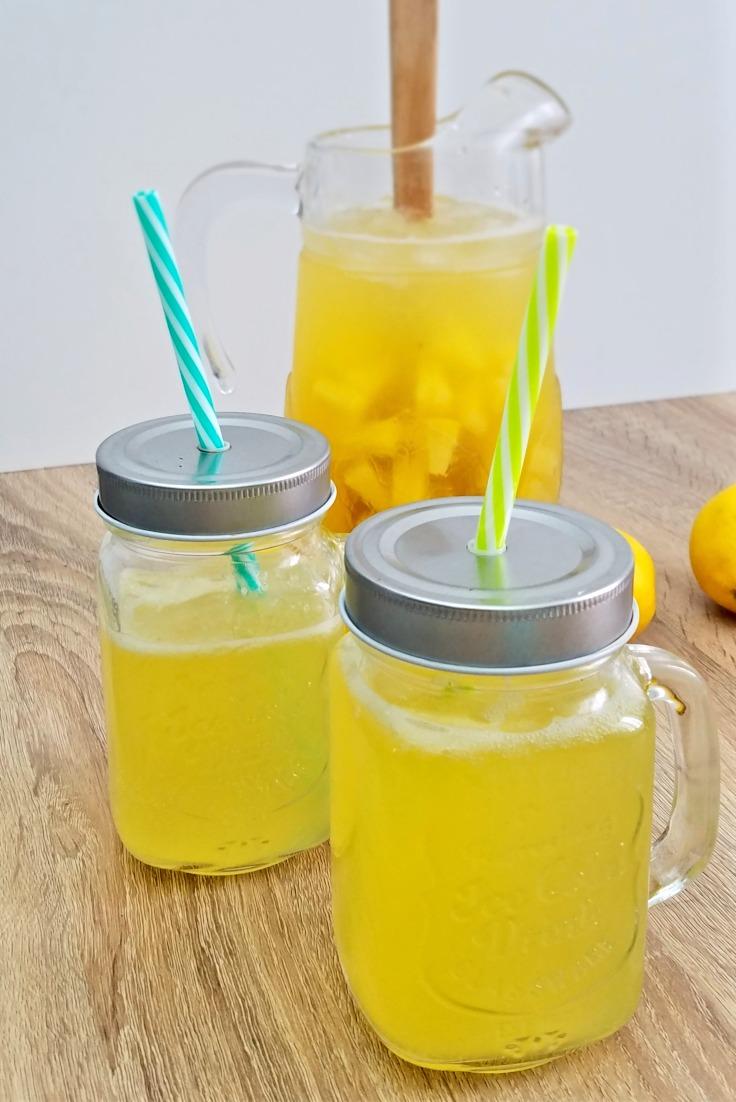 Punch de limonada spumanta