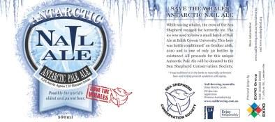Etiqueta Antartic Nail