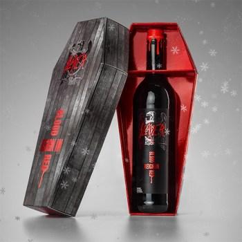 Slayer packaging navideño