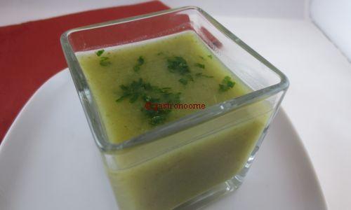 soupe aux brocolis light