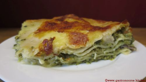 Lasagnes aux courgettes et aux 3 fromages