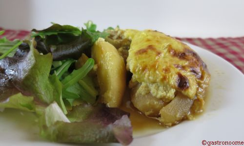 gratin d'endives aux fruits