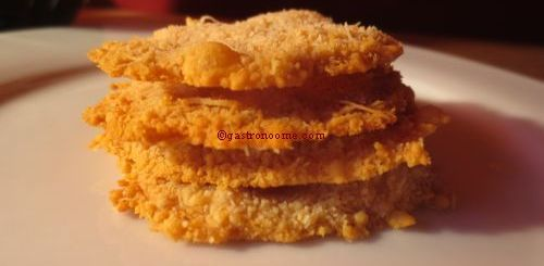 Crackers de parmesan