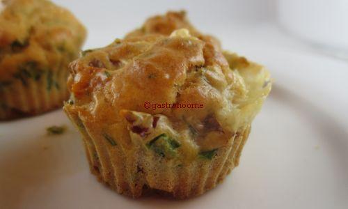 Muffins tomates séchées & cantal