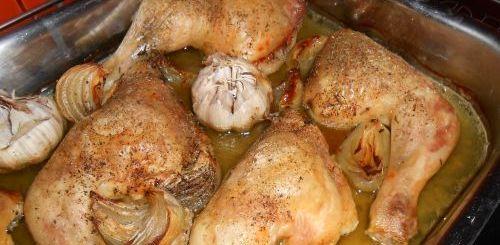 cuisses de poulet au four (cuisson basse température)