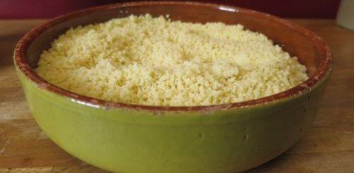 semoule à couscous