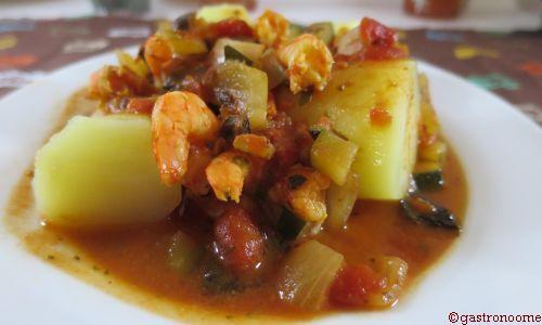 Ragoût de poisson blanc à la provençale