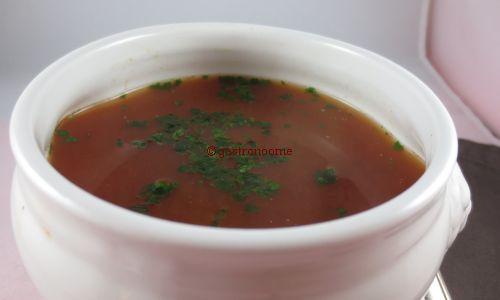 Soupe de tomates express