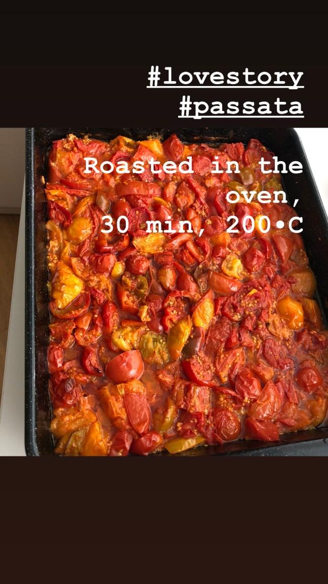Tomaten im Ofen rösten