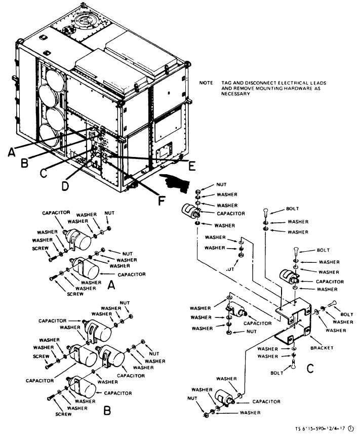 Figure 4-17(1). Radio Interference Suppression Components